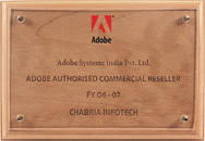 Adobe Authorised Commercial Reseller FY 2006-2007