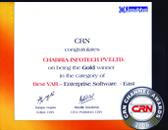 CRN Channel Awards 2006 Gold Winner Best VAR - Enterprise Software (East)