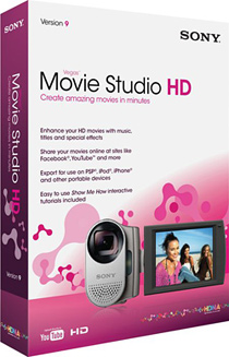Sony Vegas Movie Studio from leading software dealer in Kolkata